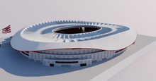 Load image into Gallery viewer, Wanda Metropolitano - Madrid 3D model
