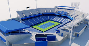 William H. G. FitzGerald Tennis Center - USA 3D model