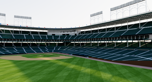 Wrigley Field - Chicago Cubs 3D model