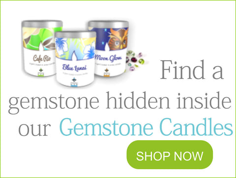 Gemstone Candles