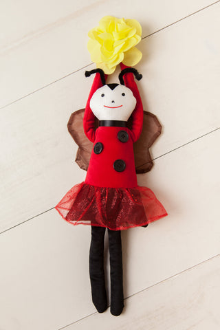 Lady Bug Door Hanger