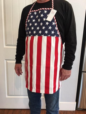 4th of July - Adult Stars and Stripes Apron