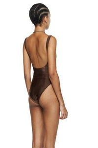 Chocolate Leotard