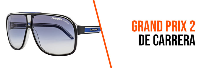 Los lentes de sol Carrera Grand Prix 2 Polarizados, exclusivos de Solaris