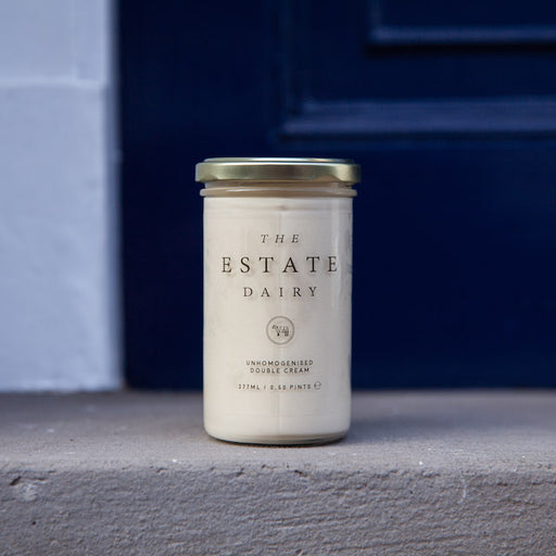 Single farm gate Double Cream jar used by some of the best restaurants in the UK.
