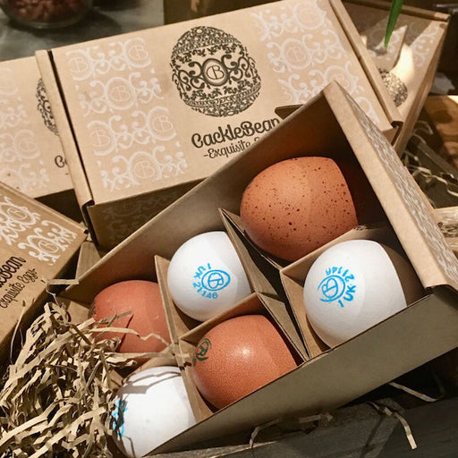 CackleBean travels to London twice (or more) a week to deliver farm fresh eggs to lots of wonderful chefs, restaurants, pubs, makers and bakers. Their eggs are for sale throughout the Cotswolds and from a variety suppliers in London.