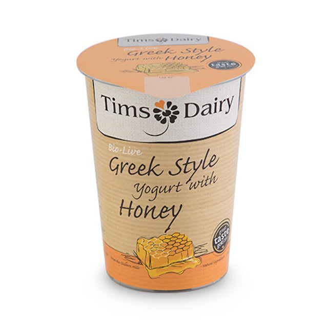 Indulgent and full of flavour, this award winning bio-live Greek style yogurt with honey is thick, creamy and irresistible. Made with fresh pasteurised British milk and cream with the best in natural ingredients, it is pure, simple and heavenly to eat. Inevitably a family favourite, this classic flavour never fails to excite.  It is bio-live and made with the active bacteria Bifidobacterium, Lactobacillus bulgaricus and Streptococcus thermophilus.