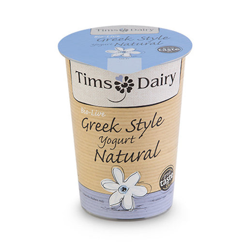 Made with a combination of fresh pasteurised milk and cream, this award winning luscious, thick and smooth bio-live natural yogurt is how real Greek style yogurt should taste.  To be enjoyed as part of a healthy diet, it has no added sugar and is made using the active bacteria Bifidobacterium, Lactobacillus bulgaricus and Streptococcus thermophilus.