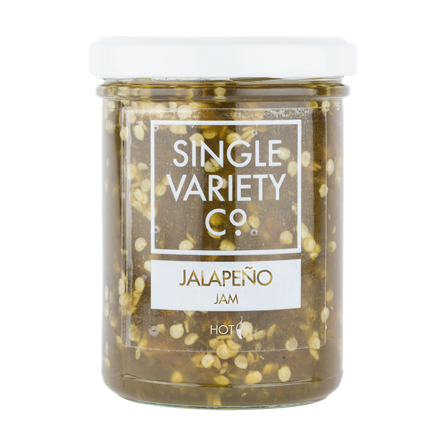 Combining jalapeños with cider vinegar creates this spicy sweet delight. Excellent in a burger or perfect with a cheeseboard. Great Taste Award Winner 2017.