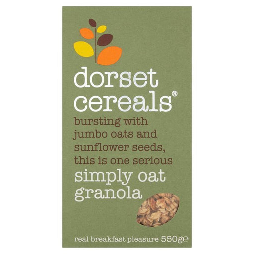 This delicious granola is bursting with jumbo oats and sunflowers seeds for a warm flavour and subtle crunch.
