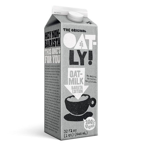 This carton of Barista Edition oat drink is made from liquid oats, which means it isn't overly sweet or excessively heavy. It's fully foamable, putting you in total control over the density and performance of your foam. And if you don't feel like a latte, you will be happy to know that this product tastes just as amazing if you drink it straight, pour it on your granola or put it to work with your cooking skills.