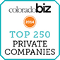 Colorado Biz Top 250 Companies