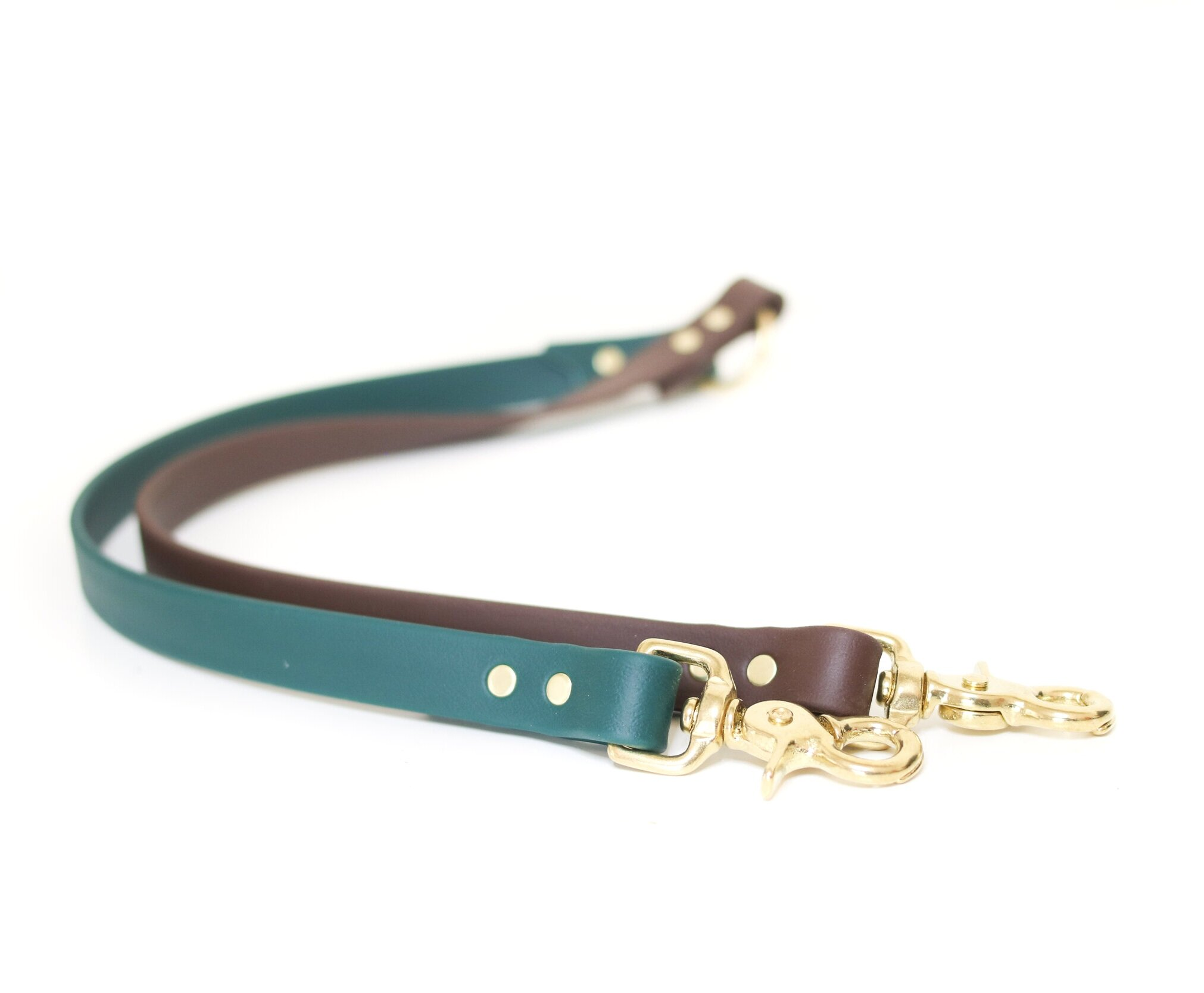 "Le Shoob - ""Sangria+Espresso"" Leash Splitter"
