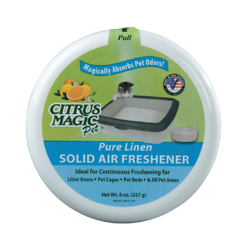 Citrus Magic - Air/Cage Freshener, Pure Linen Scent