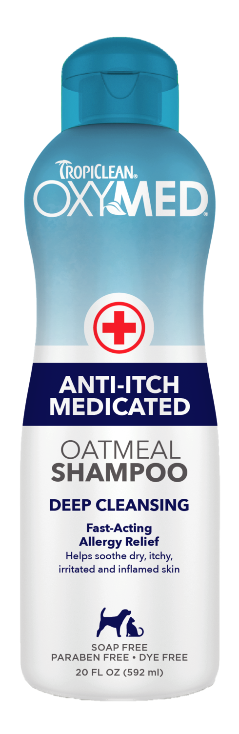Tropiclean - OxyMed Anti-Itch Medicated Shampoo For Dogs/Cats
