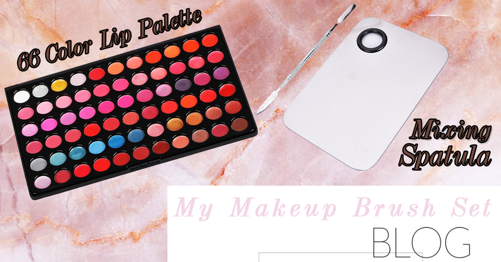 66 Color Lipstick Palette Review