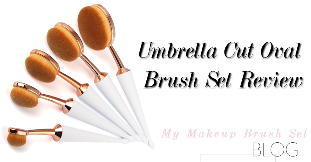 Umbrella Cut Oval Brush Set Review