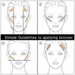 How to use blush bronzer highlighter my make up brush set us bronzer is used to contour your face ccuart Images