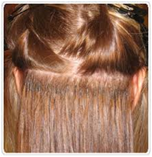 Tips for wearing hair extensions my make up brush set us there are a lot of ways to wear hair extensions for example you can clip them in glue them in sew them in tape them in and micro bead them in pmusecretfo Images