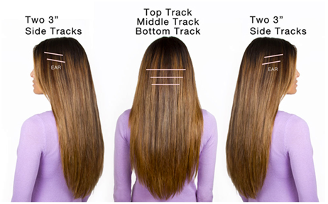 Tips for wearing hair extensions my make up brush set us tease hair close the root for extensions to hold better and that way in case you comb through your hair with a comb your hair extensions will not slip out pmusecretfo Image collections