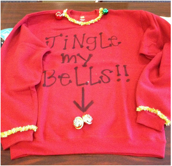 feeling naughty before christmas ugly christmas sweater with captions are the best feel the joy with a twist of fun use a pair of cute gloves and - Feel The Joy Christmas Sweater