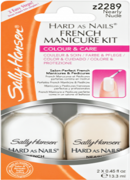 How to make your own french nails