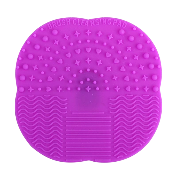 Mat Brush Cleaner Pad RedViolet, Makeup Brush - My Make-Up Brush Set, My Make-Up Brush Set  - 6