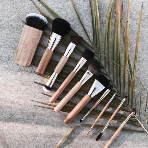 10 Piece Professional Wood Brush Set