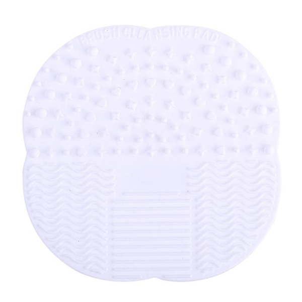 Mat Brush Cleaner Pad White, Makeup Brush - My Make-Up Brush Set, My Make-Up Brush Set  - 7