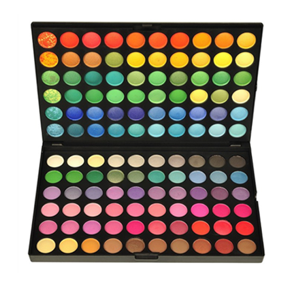 120 Rainbow Eyeshadow , Make Up Brush - MyBrushSet, My Make-Up Brush Set