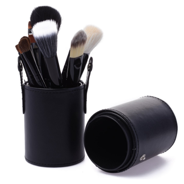 12 Piece Brush Set in Round Case