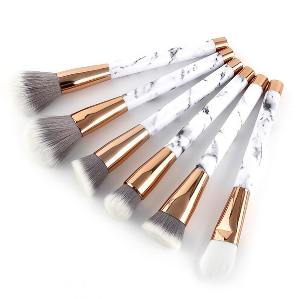 15 Piece Pro Marble Brush Set