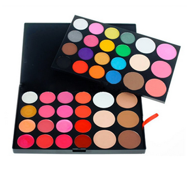 44 Color Palette , Make Up Brush - My Make-Up Brush Set, My Make-Up Brush Set
