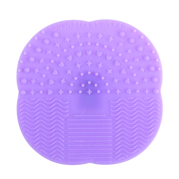 Mat Brush Cleaner Pad Purple, Makeup Brush - My Make-Up Brush Set, My Make-Up Brush Set  - 3