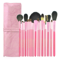 20 Pcs Salmon Brush Set , Make Up Brush - My Make-Up Brush Set, My Make-Up Brush Set  - 2