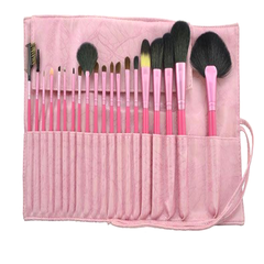 20 Pcs Salmon Brush Set , Make Up Brush - My Make-Up Brush Set, My Make-Up Brush Set  - 3