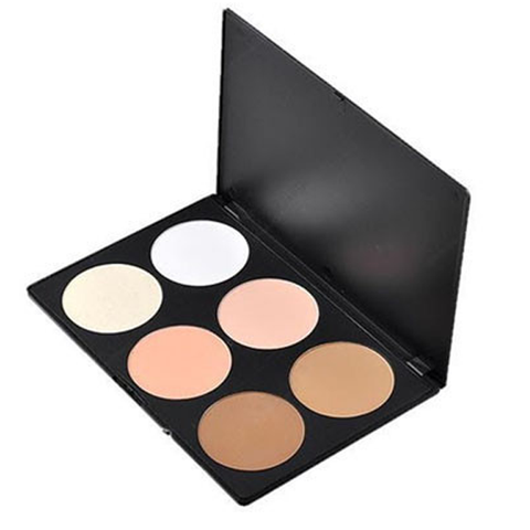 6 Color Blush Bronzer