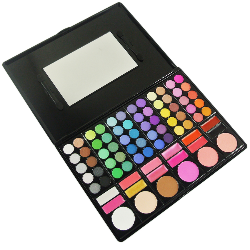 78 Color Makeup Palette , Beauty Blender - My Make-Up Brush Set, My Make-Up Brush Set  - 3