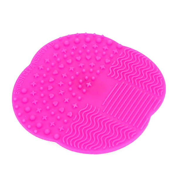 Mat Brush Cleaner Pad Hot Pink, Makeup Brush - My Make-Up Brush Set, My Make-Up Brush Set  - 4