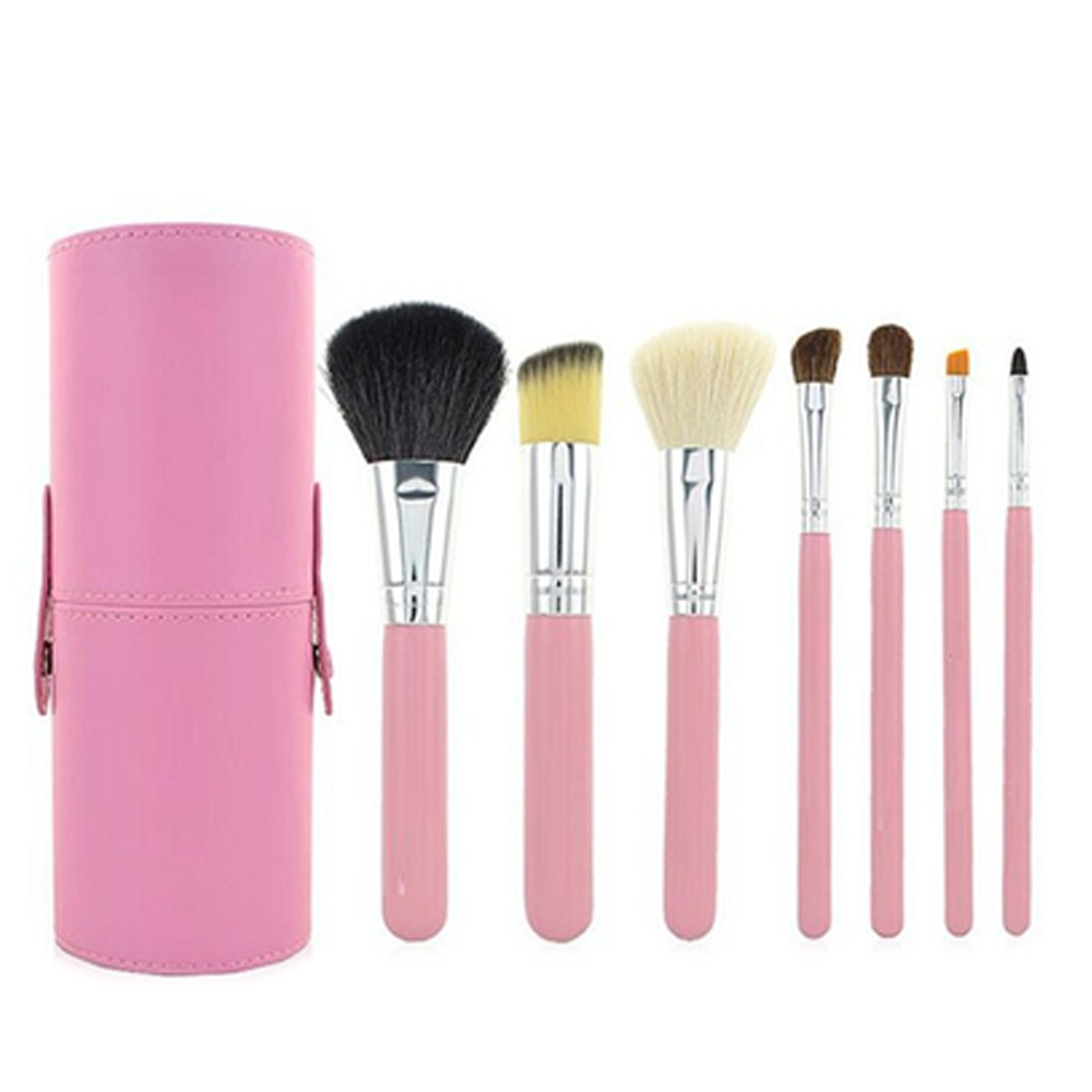 7 Piece Brush Set in Round Case