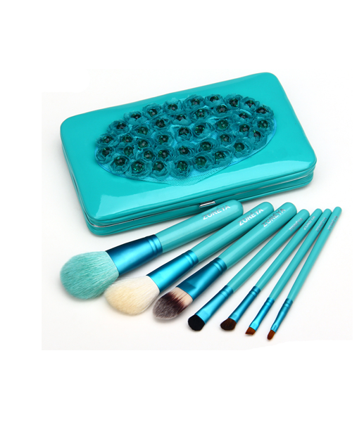 7 Piece Flower Make Up Brush Set , Make Up Brush - MyBrushSet, My Make-Up Brush Set  - 6