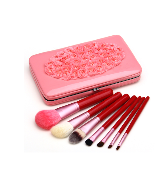 7 Piece Flower Make Up Brush Set , Make Up Brush - MyBrushSet, My Make-Up Brush Set  - 7