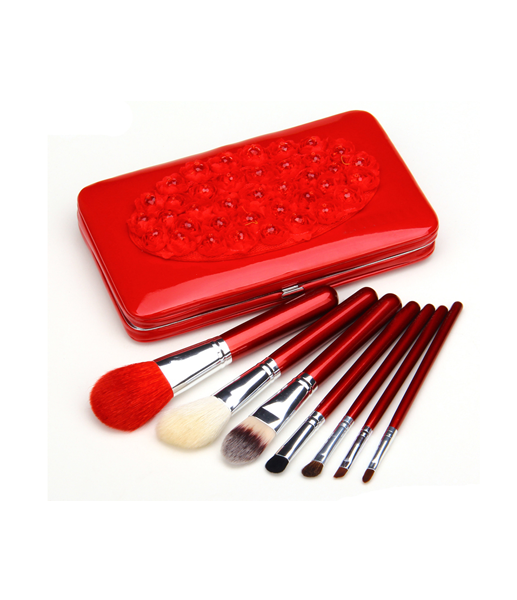 7 Piece Flower Make Up Brush Set , Make Up Brush - MyBrushSet, My Make-Up Brush Set  - 8