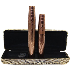 3D Fiber Lashes Waterproof Mascara With Snake Print Box , Eye Tool - My Make-Up Brush Set, My Make-Up Brush Set  - 1