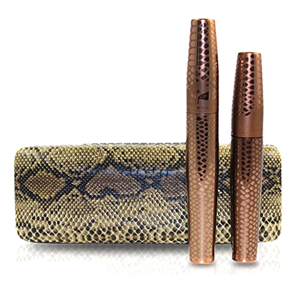 3D Fiber Lashes Waterproof Mascara With Snake Print Box , Eye Tool - My Make-Up Brush Set, My Make-Up Brush Set  - 2