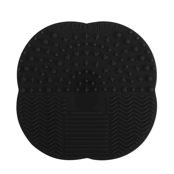 Mat Brush Cleaner Pad Black, Makeup Brush - My Make-Up Brush Set, My Make-Up Brush Set  - 5