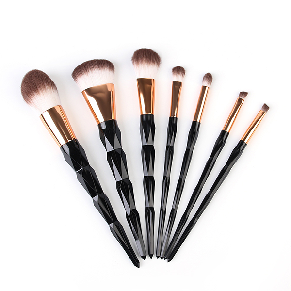 10 Piece Pro Black Diamond Brush Set