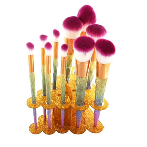 Tree Cluster Makeup Brush Holder