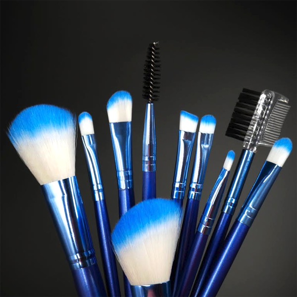 Berry Blue Brush Set
