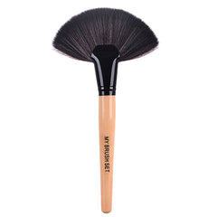 Big Fan Brush , Make Up Brush - MyBrushSet, My Make-Up Brush Set  - 2